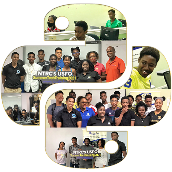 Summer TECH 2021 Python Logo Pictures Filled